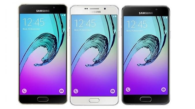Samsung galaxy A3 Galaxy A5 Galaxy A7 2016 Edition 0 0