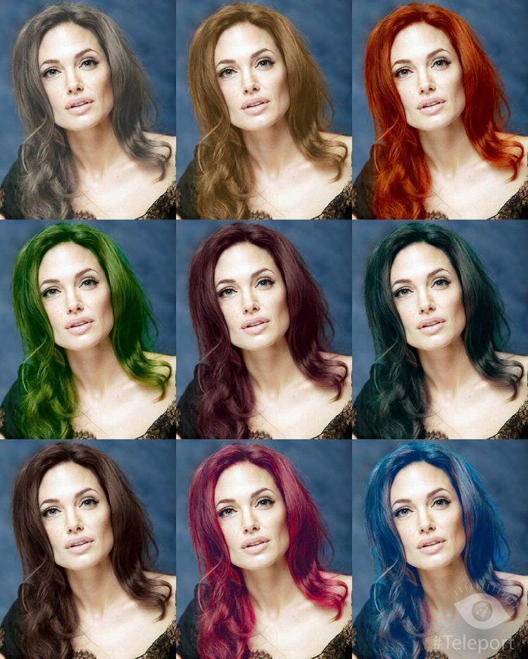 Приложения для смены цвета волос