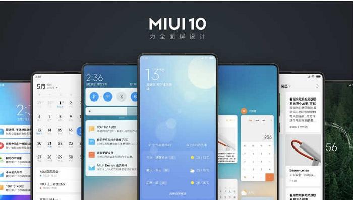 Xiaomi MIUI 10 feat