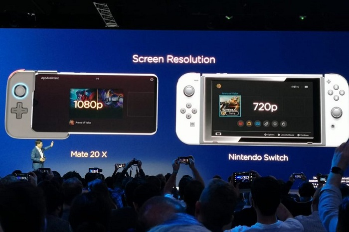 mate 20 x gamepad