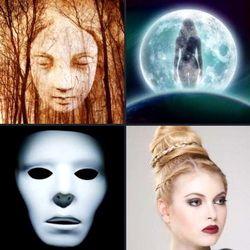 4 фотки 1 слово девушка позирует девушка в маске