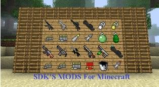 скачать игру майнкрафт с оружием - фото 8
