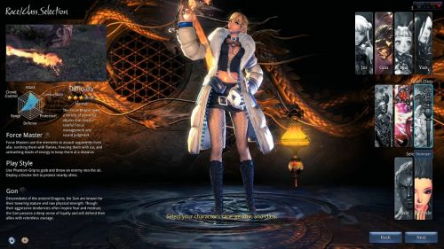 blade and soul class
