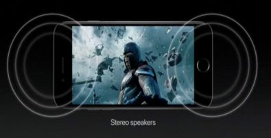 iPhone 7 stereo speakers 728x326