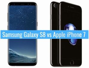 Galaxy S8 vs iPhone 7 real 1