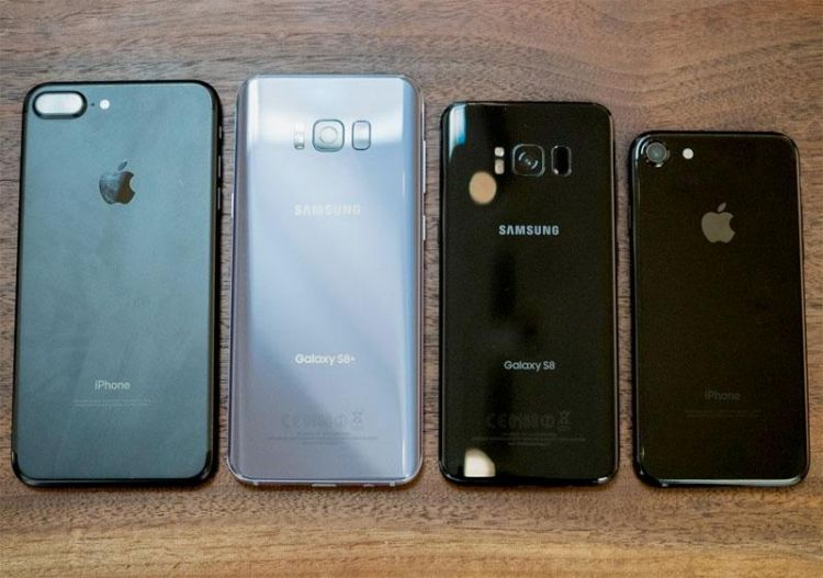Galaxy S8 vs iPhone 7 real 6