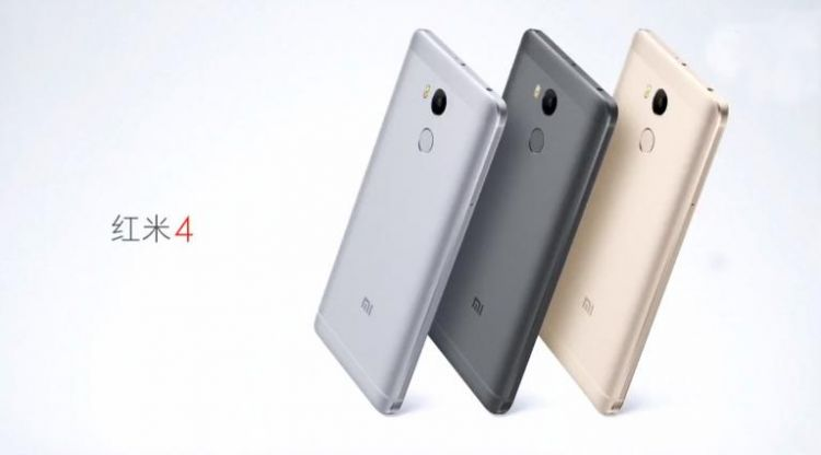 Xiaomi Redmi 4 colors