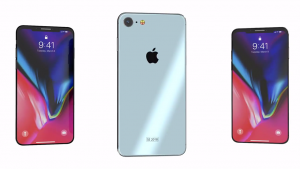 iPhone SE 2 v stile iPhone X video 2