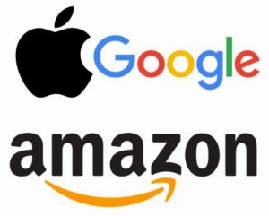 amazon apple google