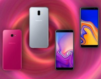 Samsung Galaxy J4+ и Galaxy J6+ - два бюджетных смартфона с ... a32e5cb55c664