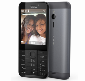 Nokia 230 Dark Silver DSIM Selfie screen