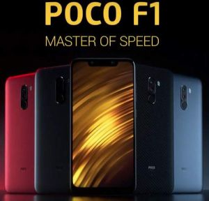 Xiaomi Poco F1 color varints large